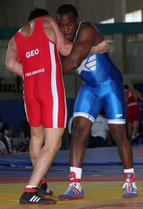 Justin Lester has not competed in six World Championships at three different weight classes. (Bob Mayeri image)