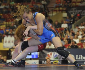 Leigh Jaynes Provisor held off Jennifer Page in the second bout to claim her third World Team berth.