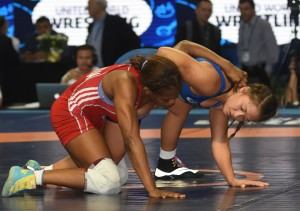 Alli Ragan is now 4-4 in three all-time World Championships after splitting two bouts in Las Vegas. (Ginger Robinson photo)