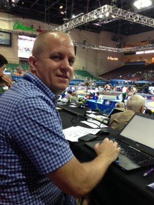 Follow national wrestling journalist Andy Hamilton at the 2015 World Championships in Las Vegas