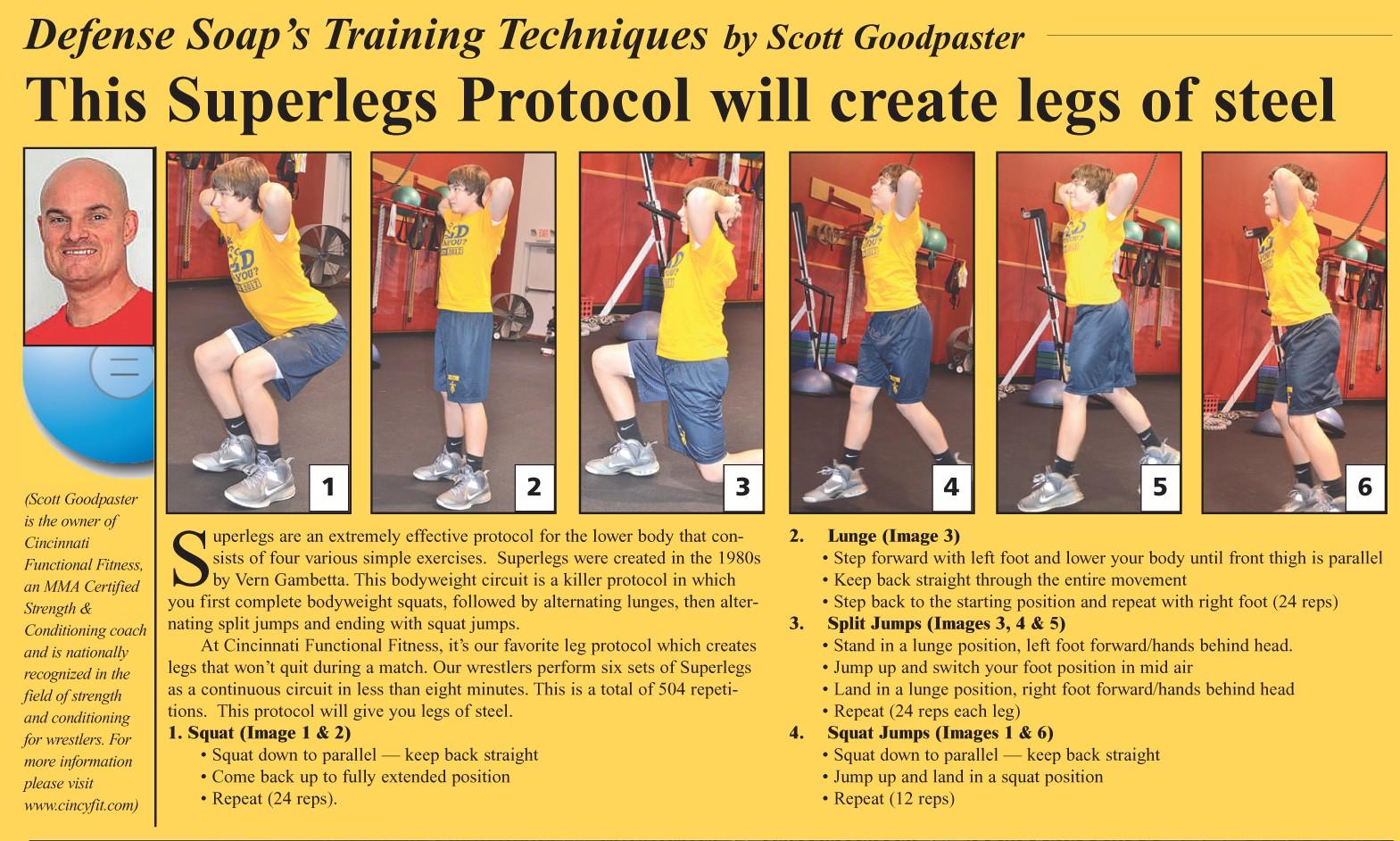 Scott Goodpaster's Unique Training Exercises - WIN ...