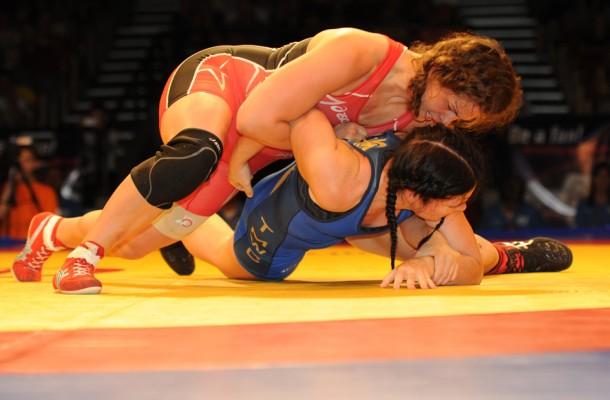 girls and wrestling