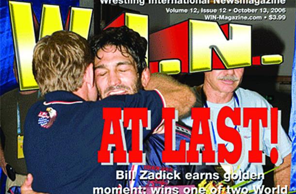 bill zadick cover