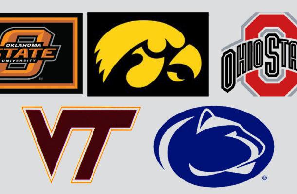 top 5 ranked teams nov 21